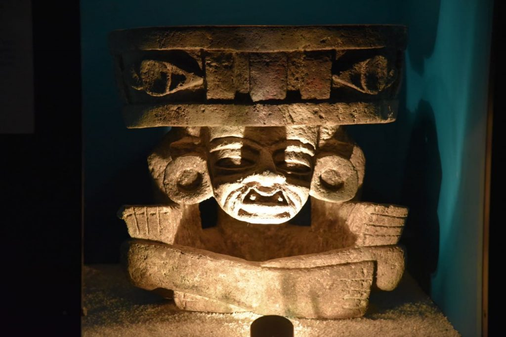 Beautiful Sculpture in Teotihuacan