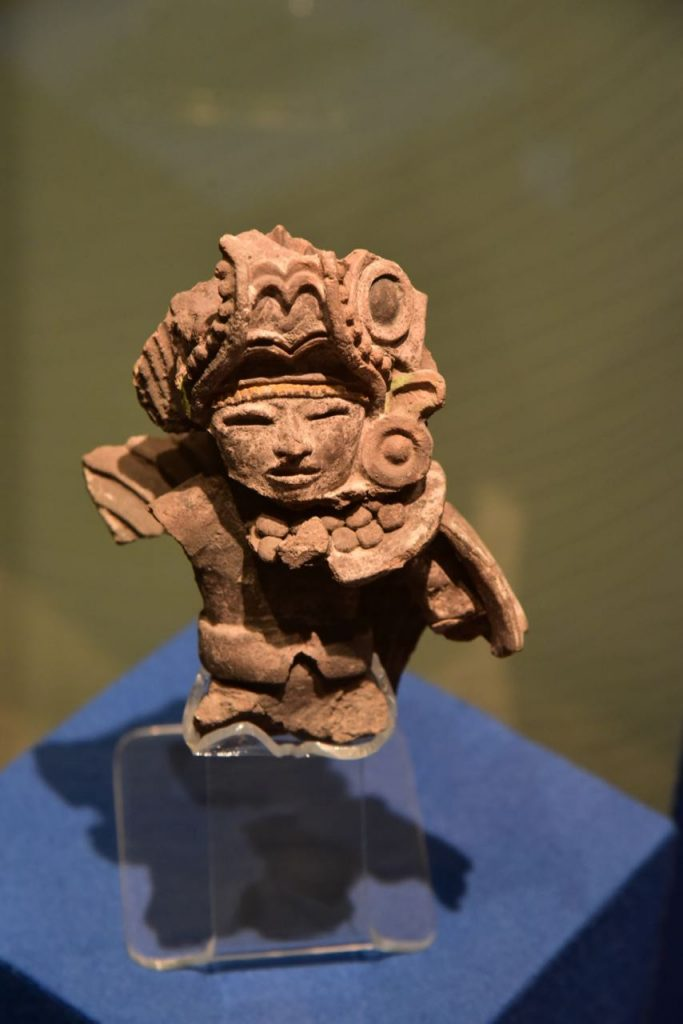 Detailed Artifact in Teotihuacan