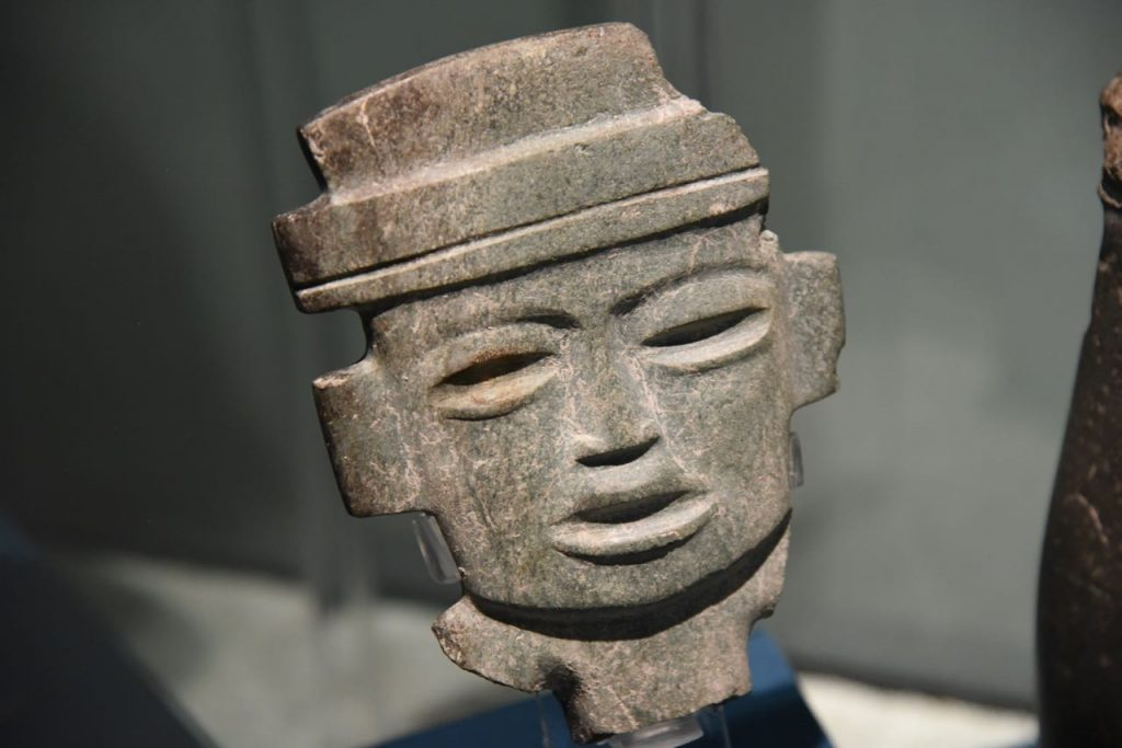 Deatailed Masks in Teotihuacan