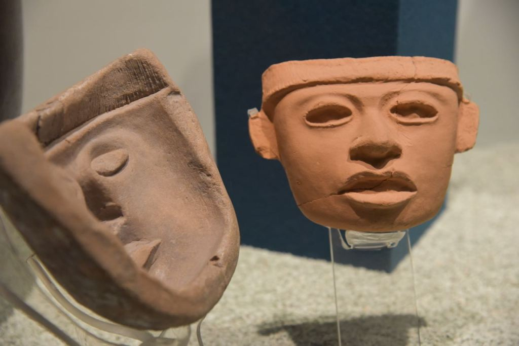 Masks in Teotihuacan