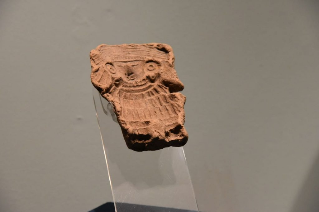 Old Piece of Artwork in Teotihuacan