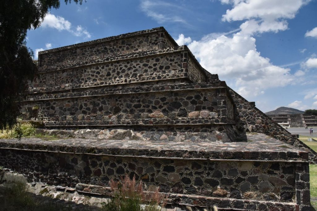 Part of a Crumbled Pyramid in Teotihuacan