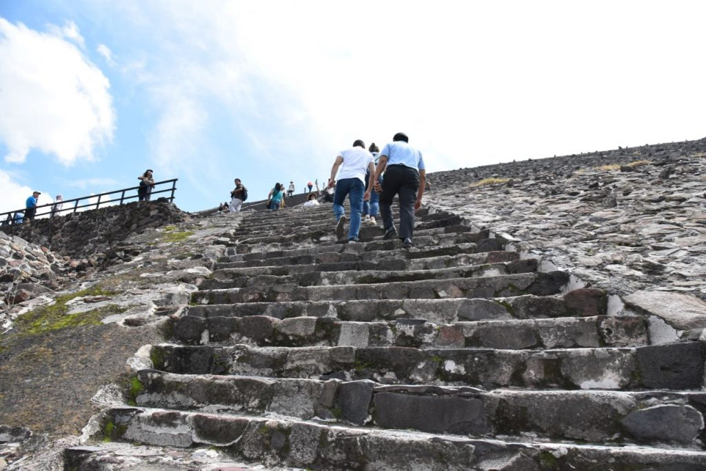 Small Stairs in Teotihuacan