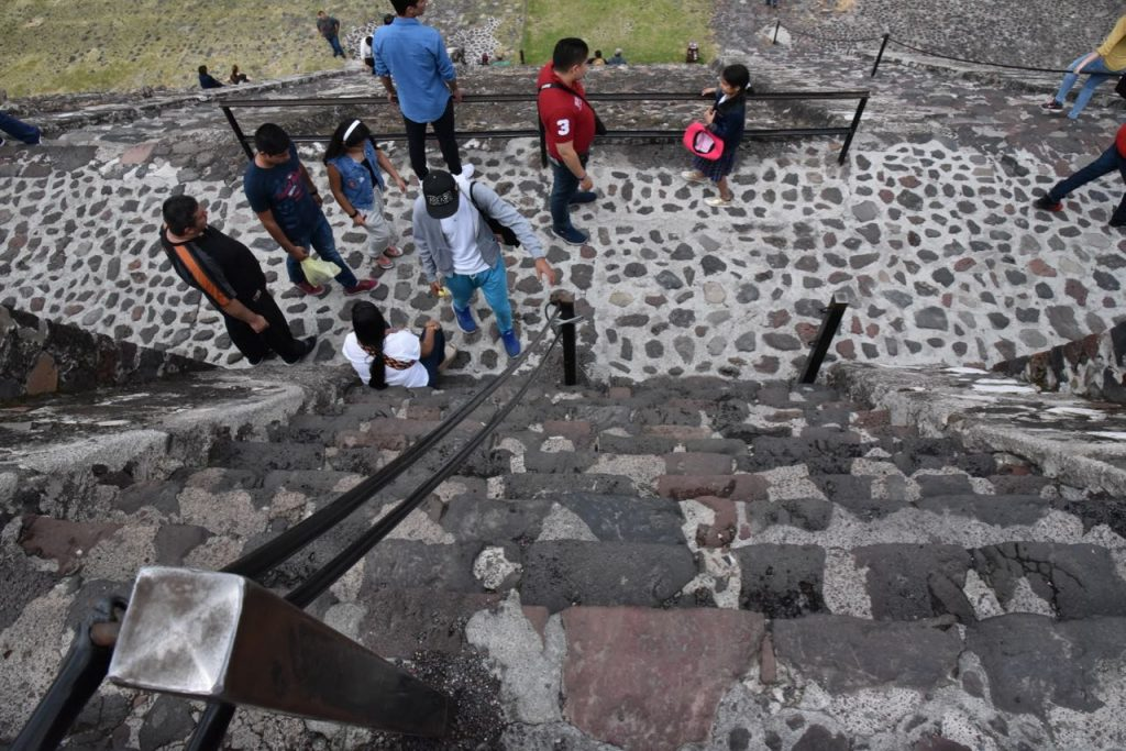 Small Steps in Teotihuacan
