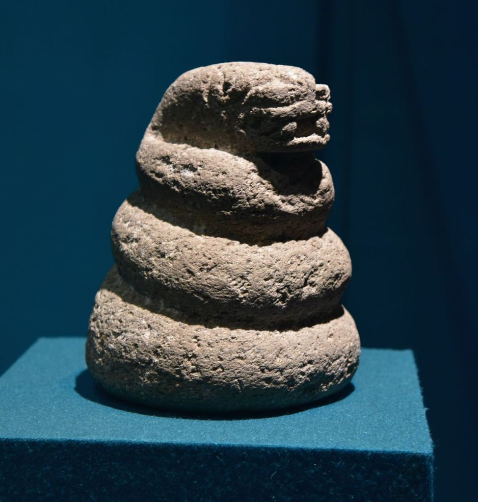Snake Sculpture in Teotihuacan