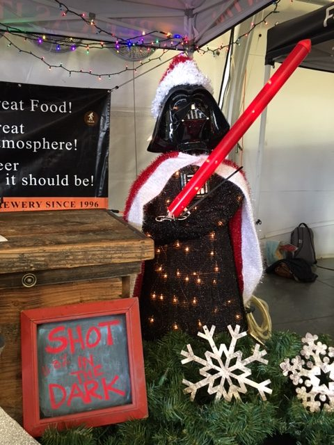 Darth Vadar at the OC Brew Ho Ho