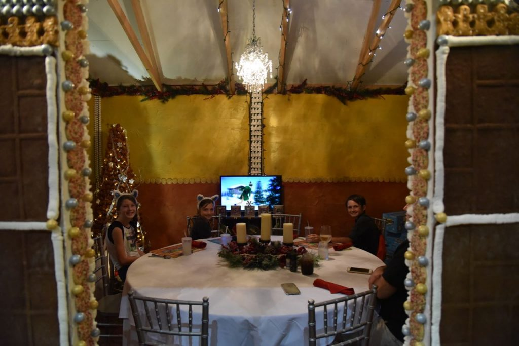 Dine inside of life-size gingerbread house at Great Wolf Lodge