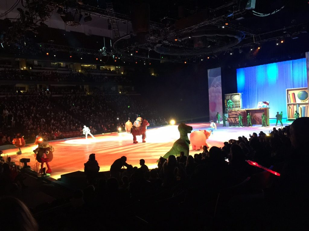 Disney Magic at Disney on Ice Worlds of Enchantment