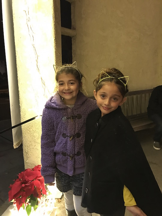 Friends visiting the Laguna Playhouse
