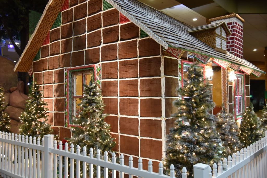 Handmade Life-size gingerbread house
