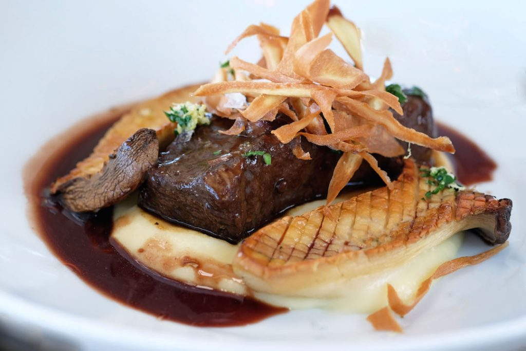 Red Wine Braised Short Rib at The Lighthouse Cafe