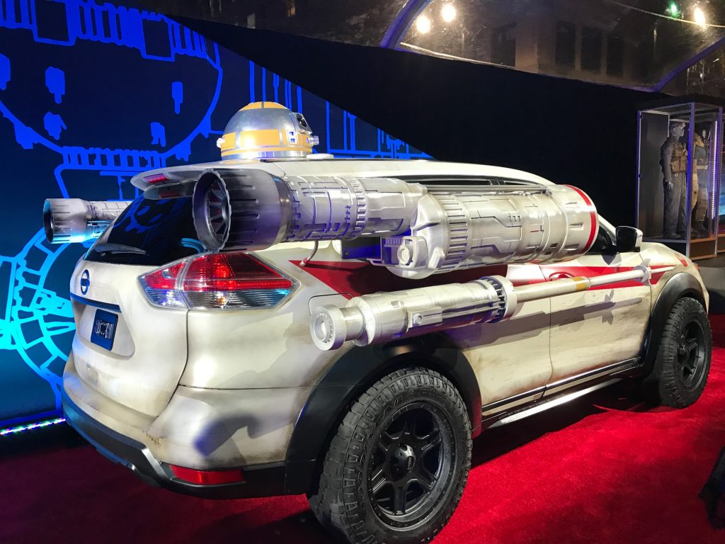 Rogue one a Star Wars Story Nissan car