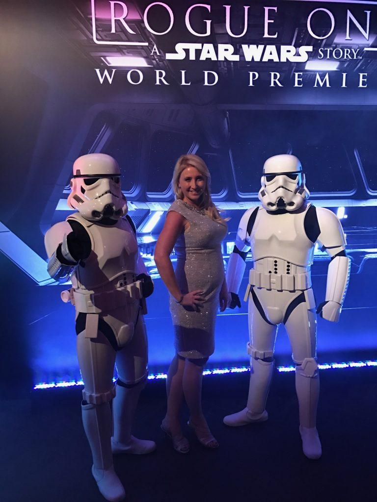 Rogue one a Star Wars Story Photo with storm troppers