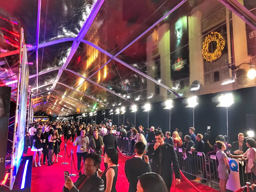 Rogue one a Star Wars Story premiere
