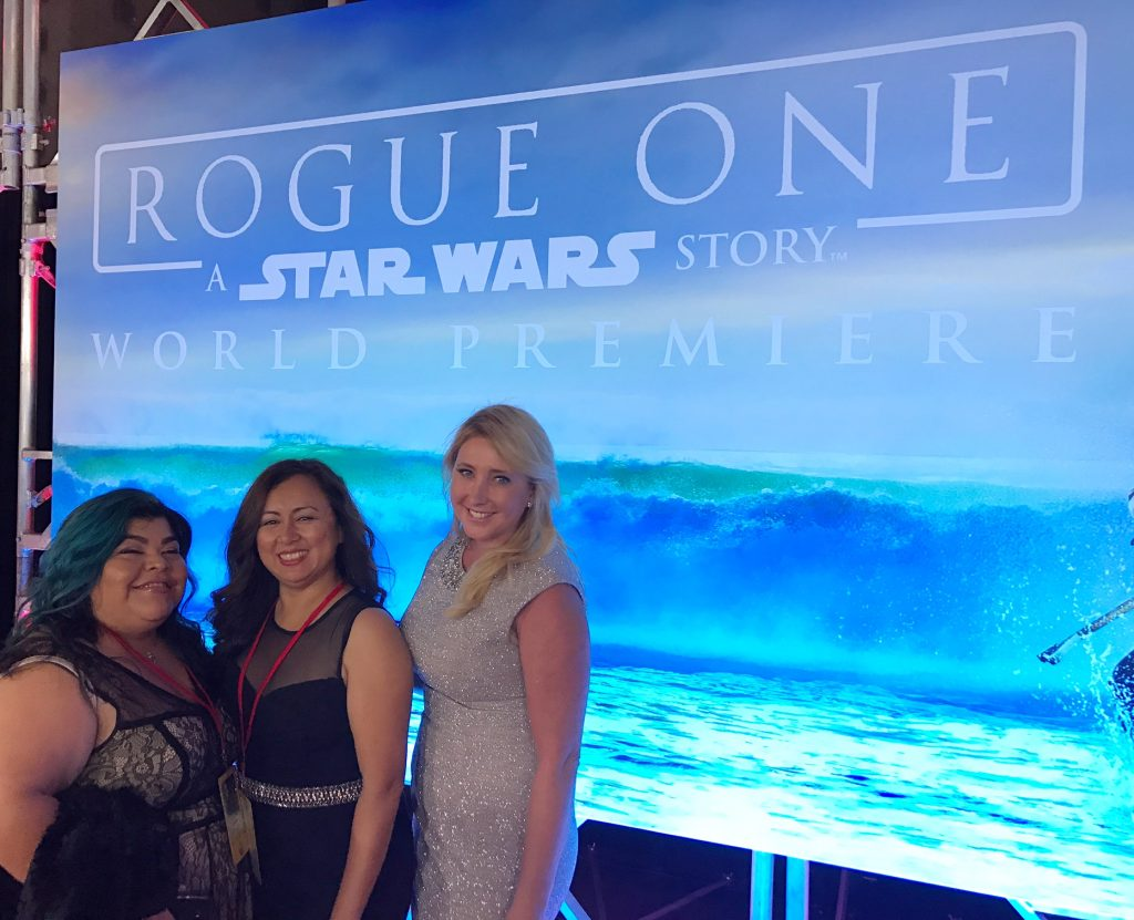 Rogue one a Star Wars story World Premiere Hollywood