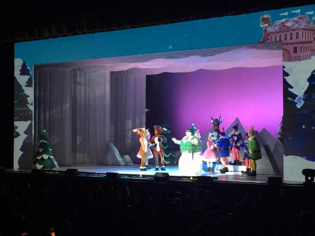 Rudolph the Red-Nosed Reindeer the Musical at the Dolby Theatre