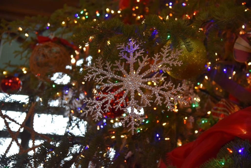 Snowflake Holiday Decoration