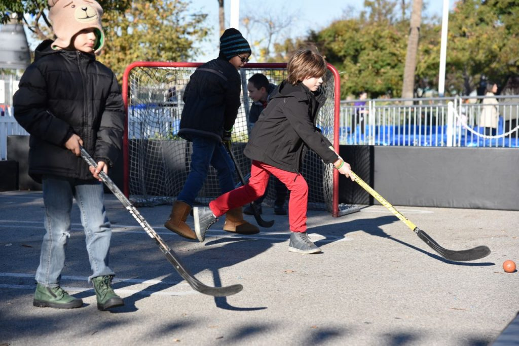 Street Hockey at Discovery Cube OC