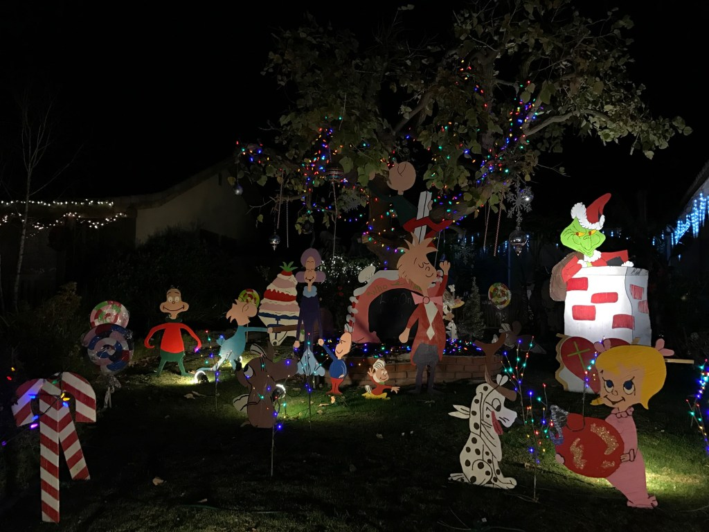 The Grinch Holiday Lights