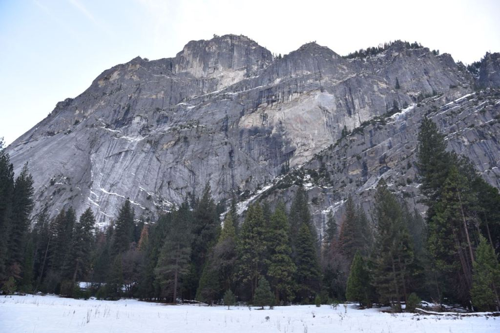Visiting Yosemite in the snow