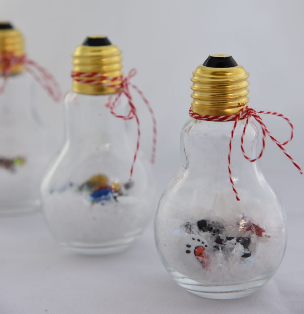 ornament snow globes craft