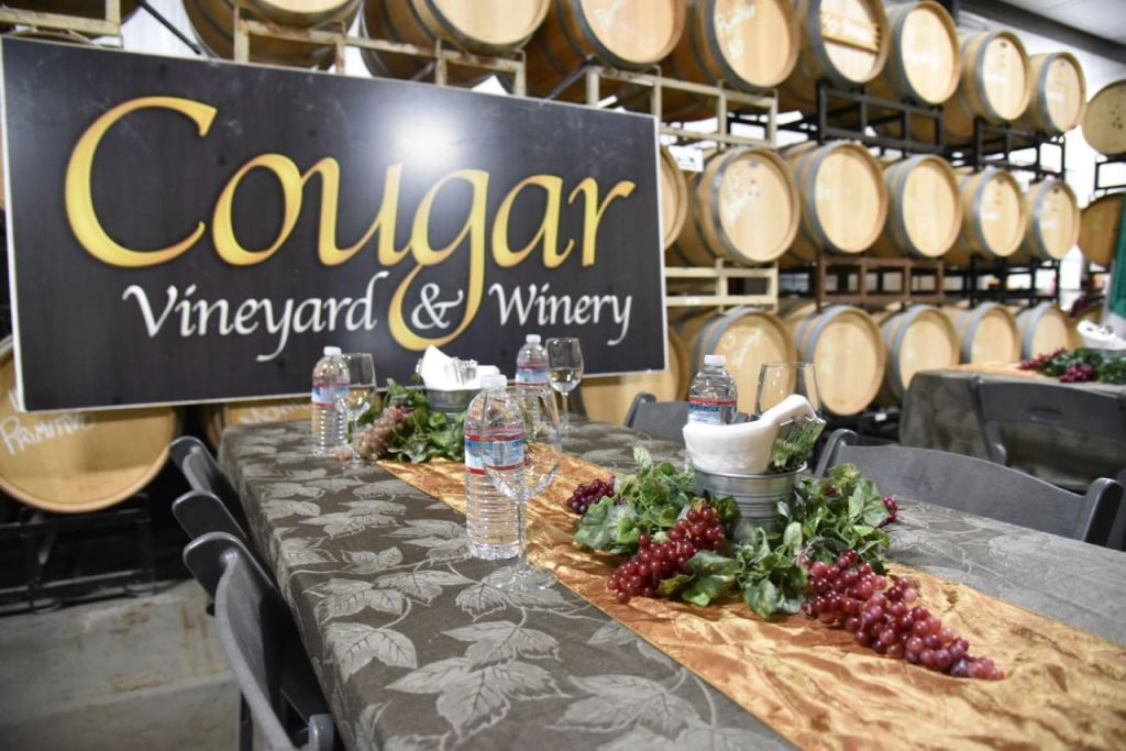 Cougar Winery Luncheon