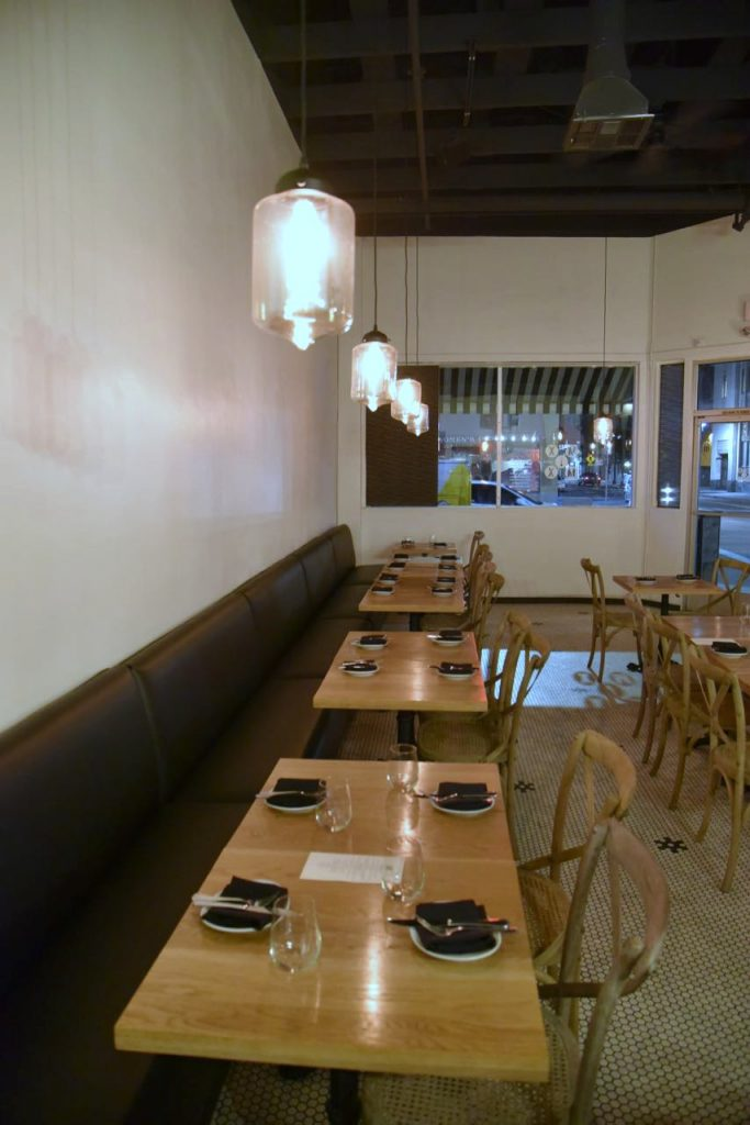 Dining Room at Mix Mix Kitchen in Santa Ana