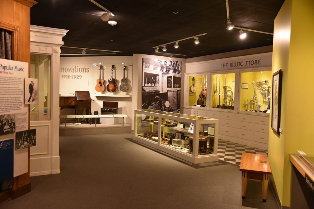 Exploring the Museum of Making Music