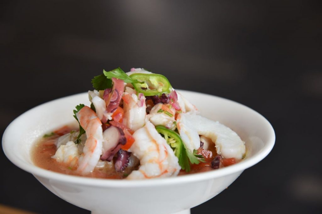 Fresh Ceviche at Banyan Tree in Mayakoba