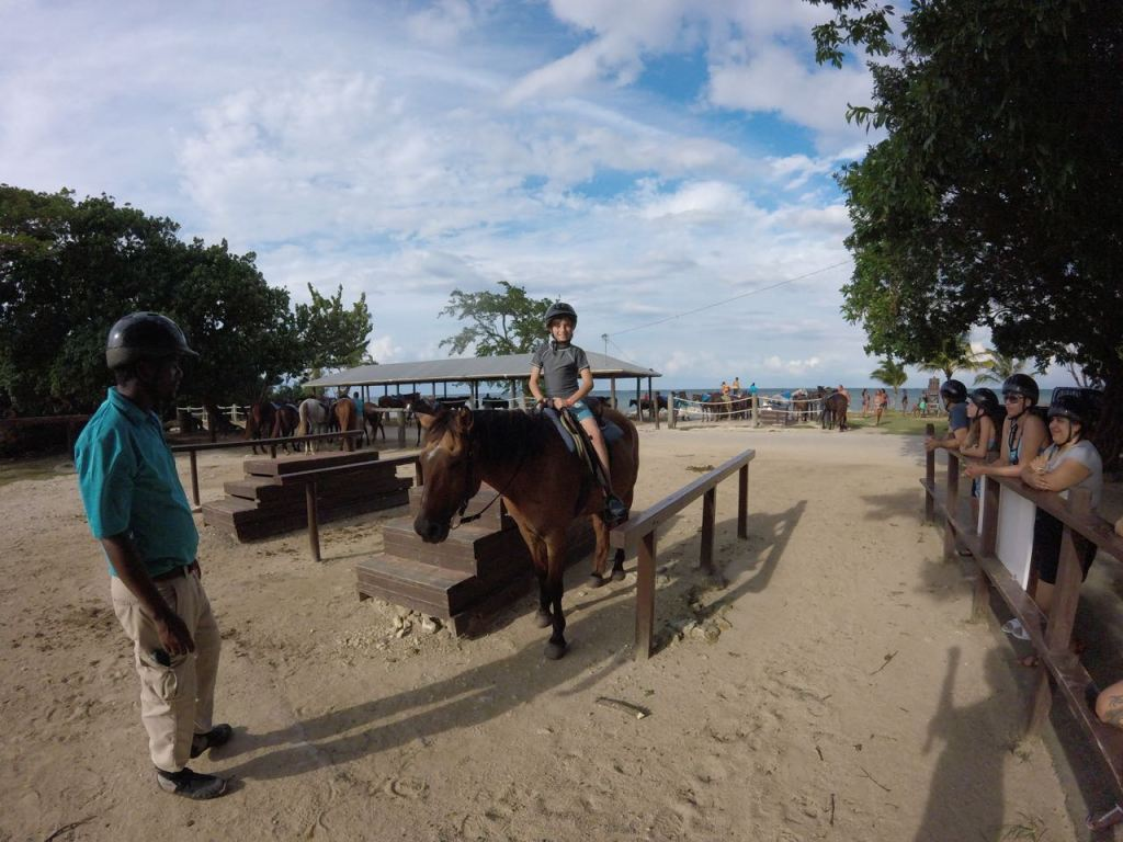 Horseback riding ranch in Jamaica