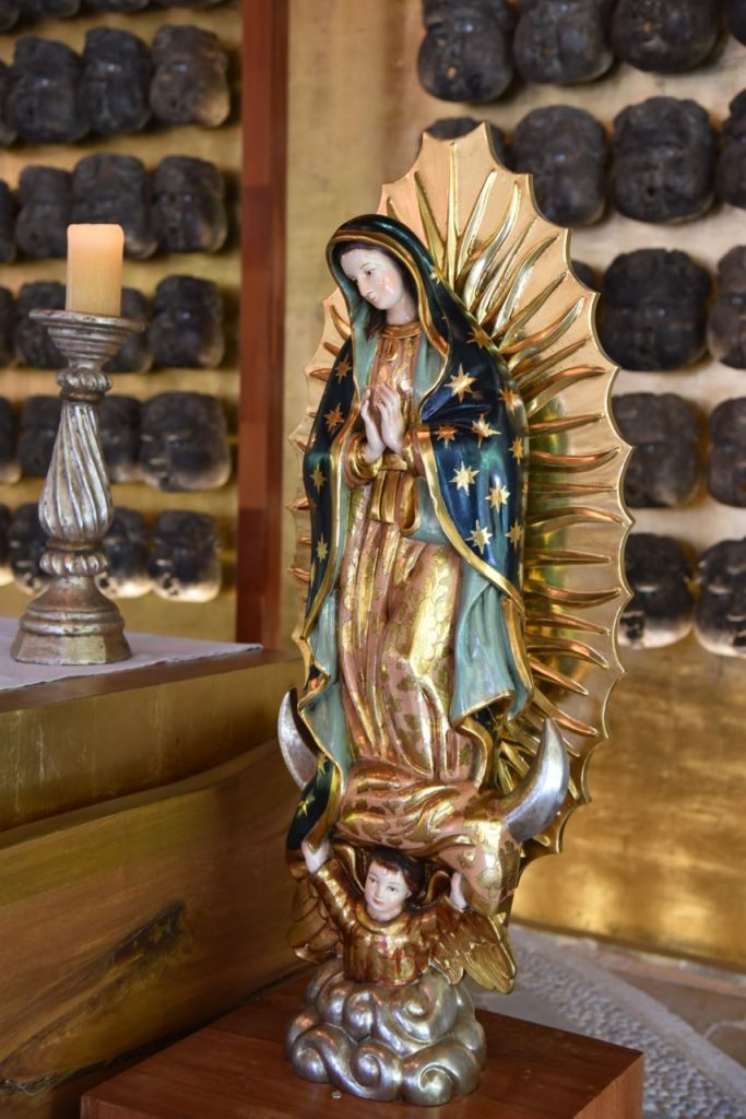 Lady of Guadalupe in Mayakoba