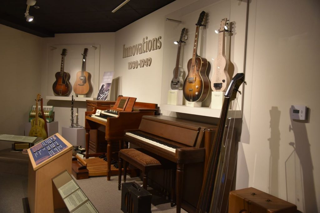 Learning about music at Museum of the Making Music in Carlsbad