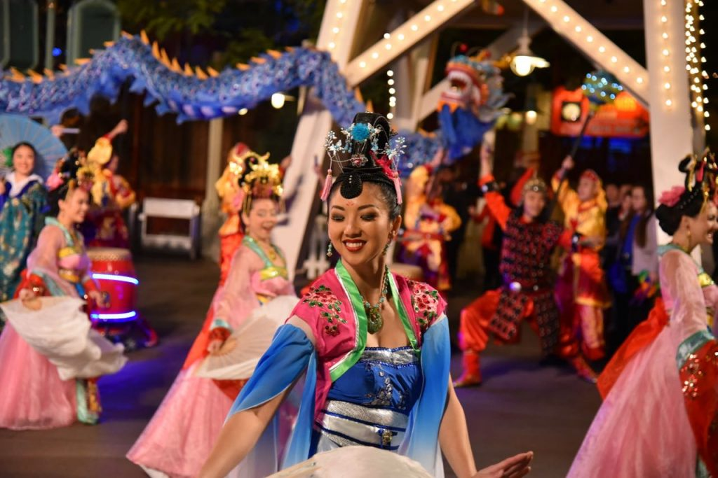 Magical Mulan Lunar New Year Procession