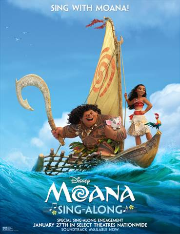 Moana Sing-Along Event