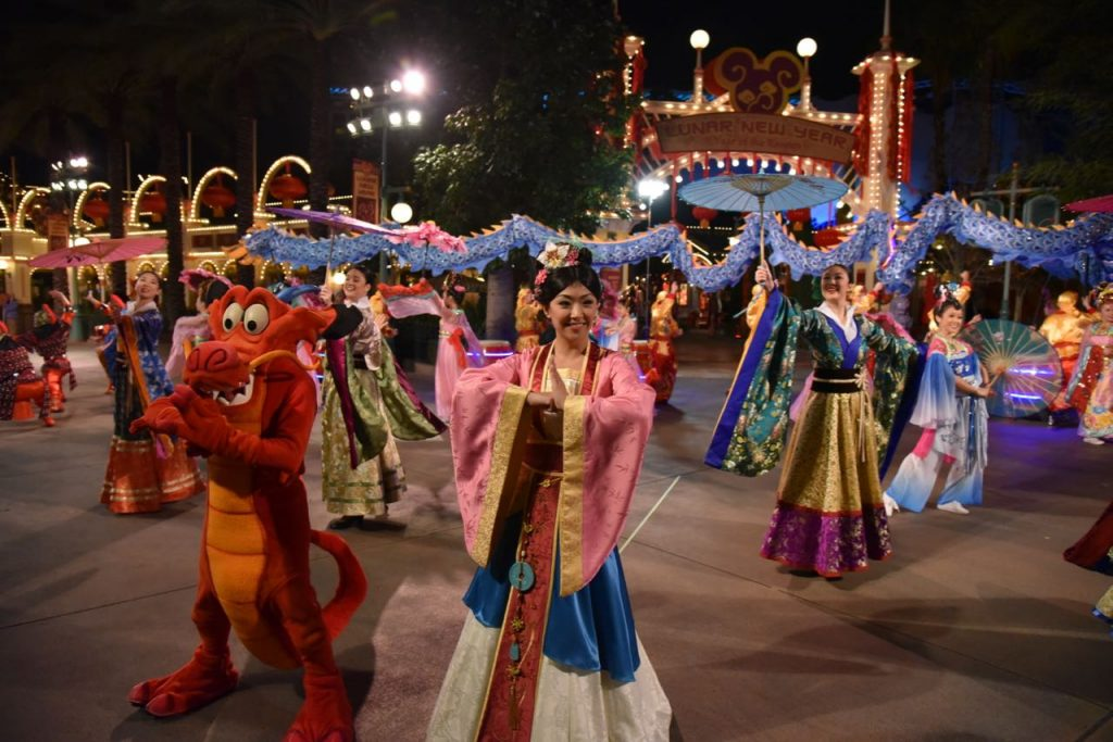 Mulan during the Lunar New Year