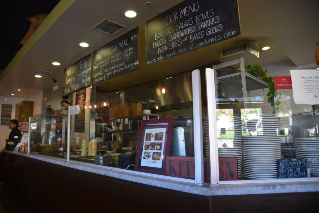 Organic and clean eating at Green2Go in Brea
