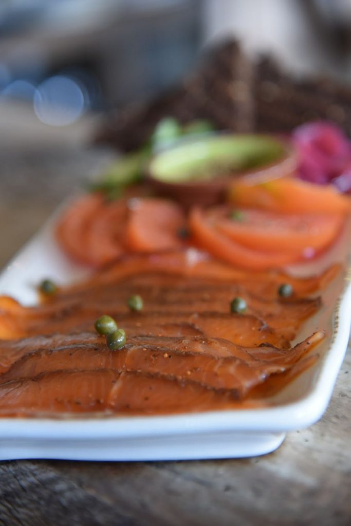 Salmon at The Farmhouse at Rogers Gardens
