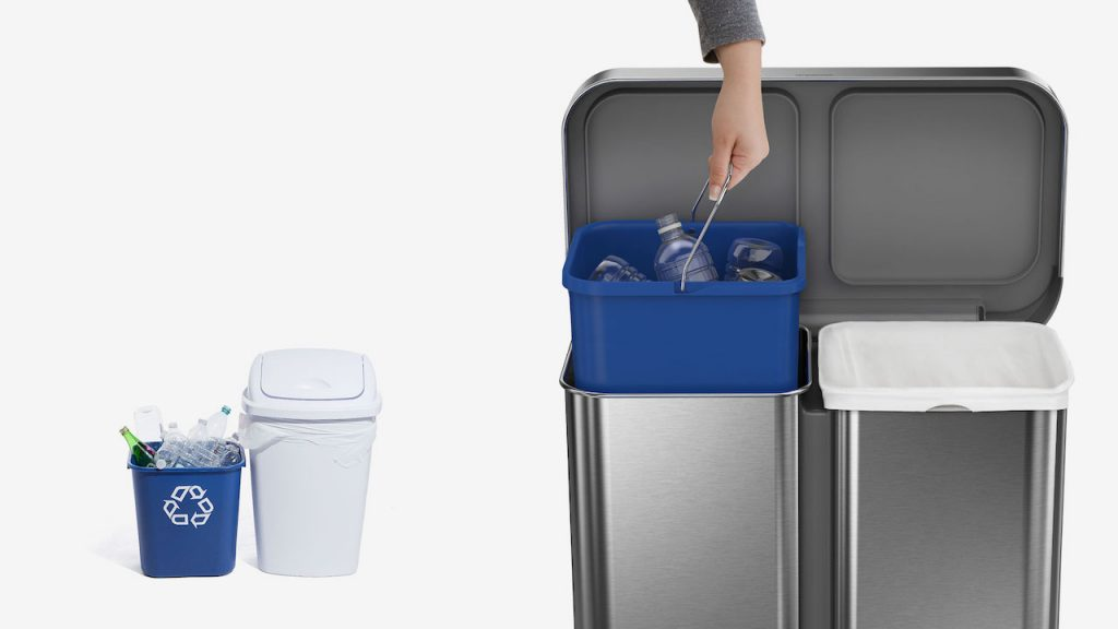 Simplehuman recycling system