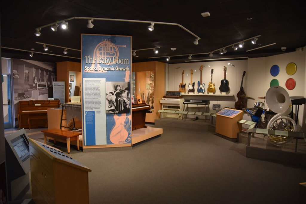Visiting the Museum of Making Music in Carlsbad