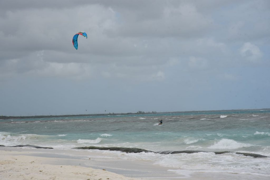 Wind surfer at Mayakoba