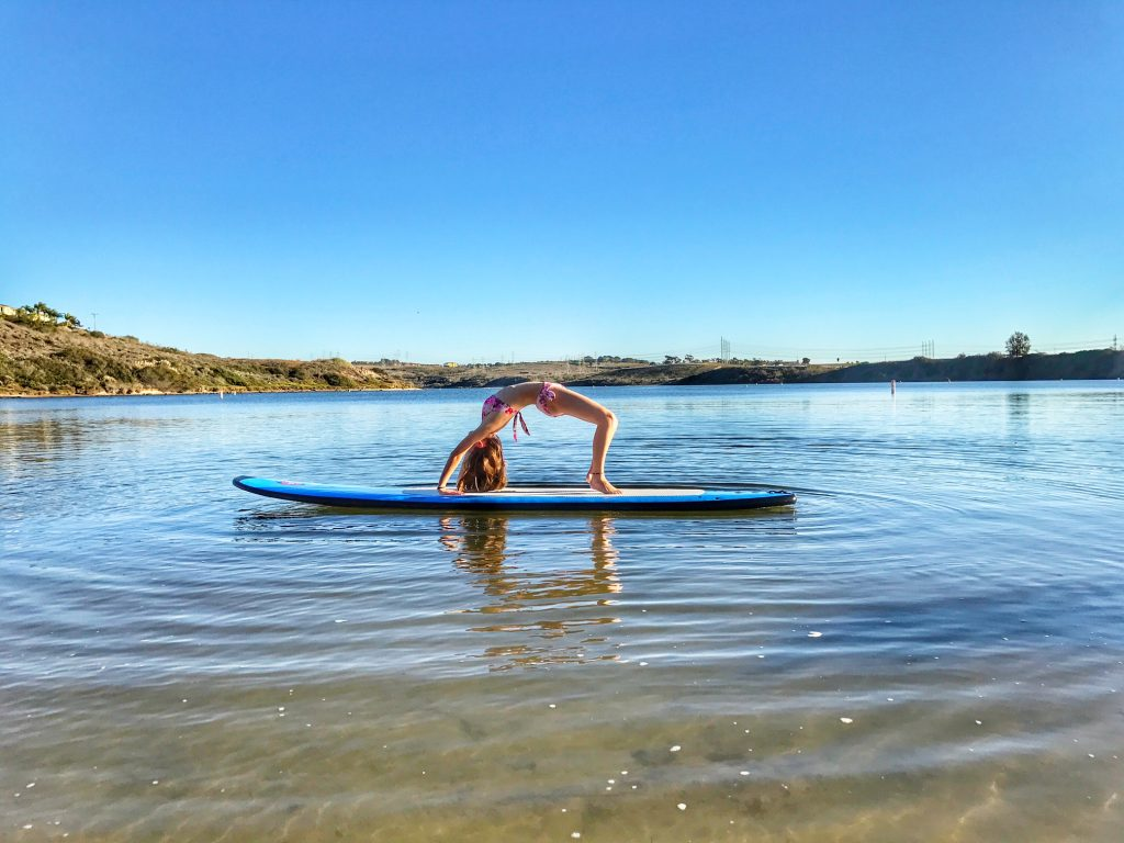 Yoga at the Carlsbad Lagoon