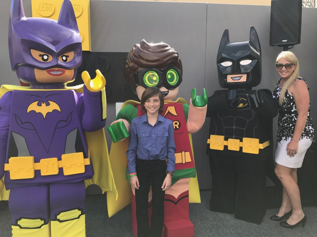 Attending the The Lego Batman Movie Premiere Pre-Party
