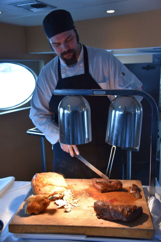 Hornblower Cruise Meat Carving Station