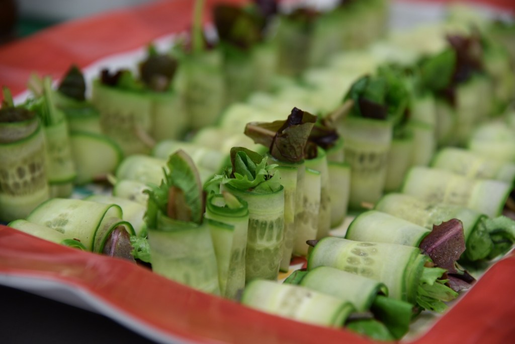 OCSA Culinary Arts lettuce wraps