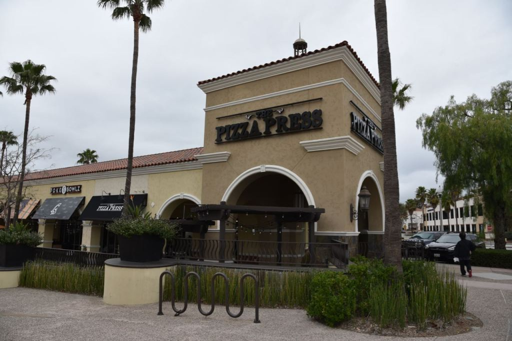 Pizza Press in Rancho Santa Margarita