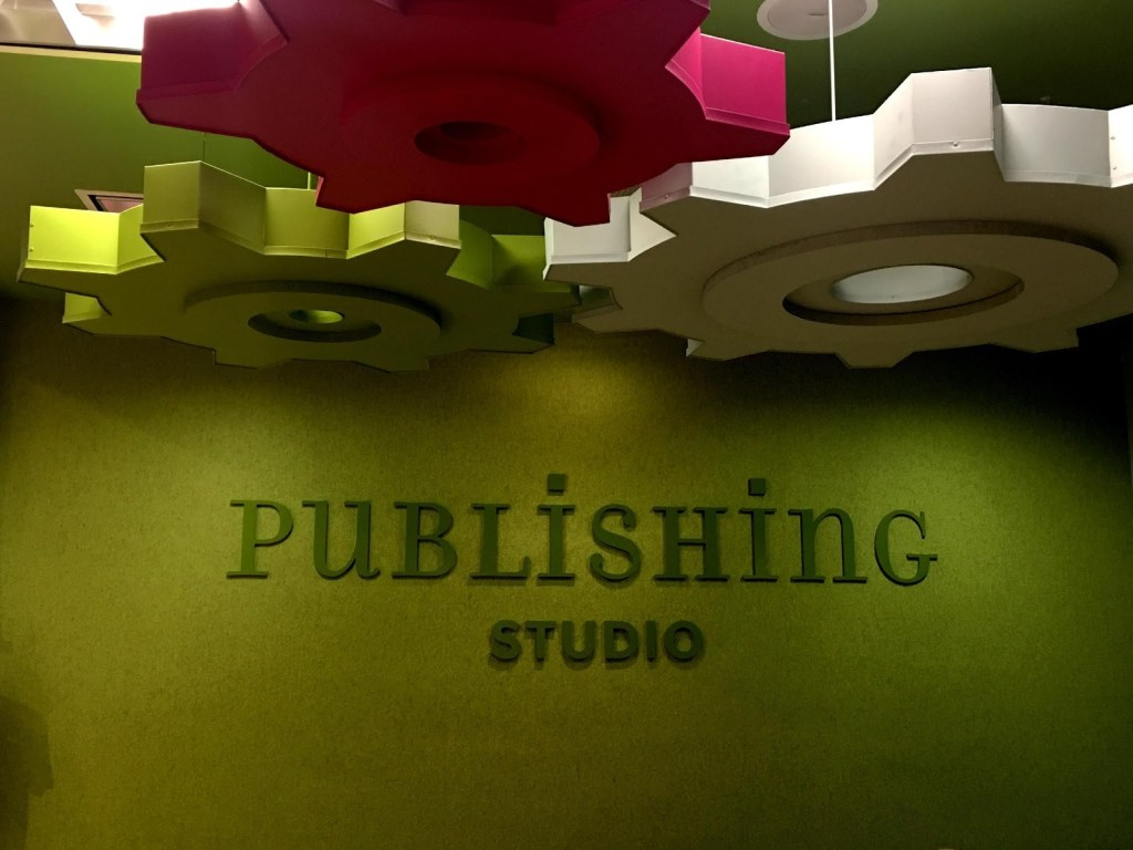 Publishing Studio at Storymakery in Irvine