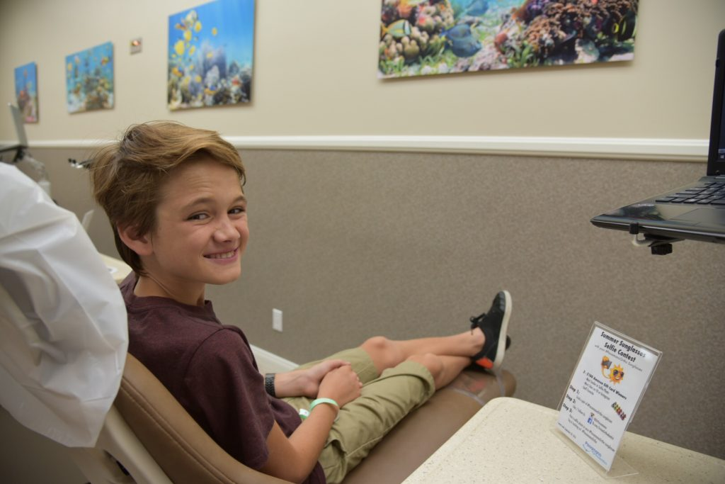 Teen hygiene with Invisalign