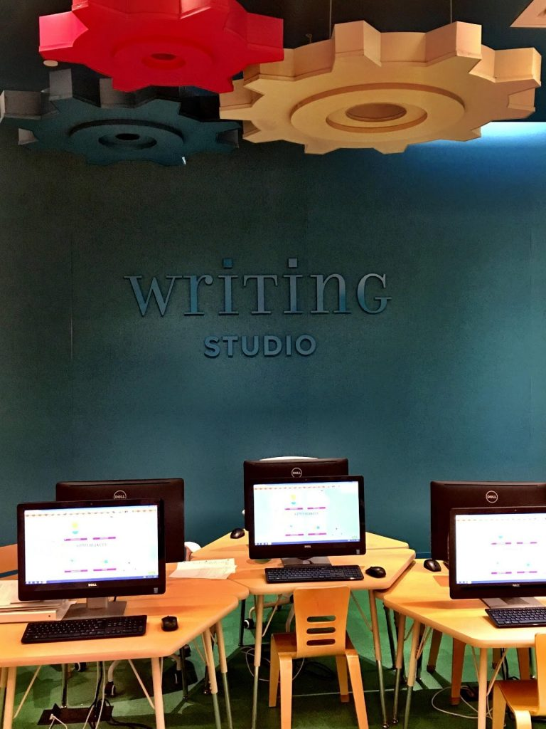 Writing Studio at Storymakery in Irvine