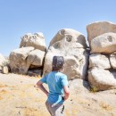 Explore Rock Faces in the Mojave Desert