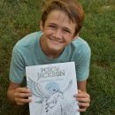 The Percy Jackson Coloring Book + Giveaway